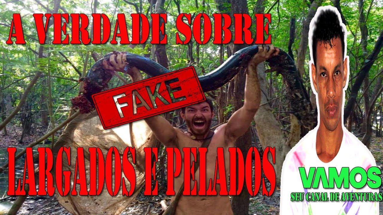 LARGADOS COM OS PELADOS! - The Forest // Parte 1 - YouTube