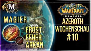 Die Azeroth Wochenschau #10 | Klassenwahl Magier | WoW Classic Podcast Deutsch