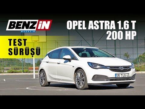 Opel Astra 1 6 Turbo 200 Hp Opc Line Test Sürüşü 2017