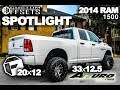 Spotlight - 2014 Ram 1500 on Fuel Rampage 20's with Atturo Trail Blade MT 33's