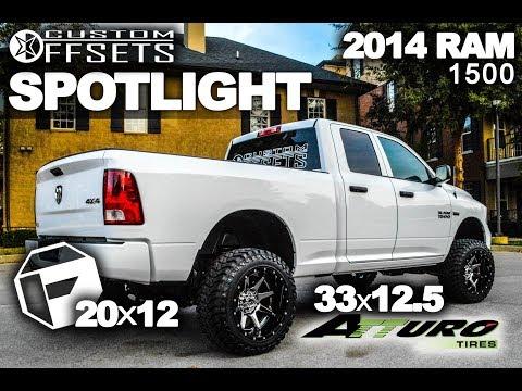 Spotlight - 2014 Ram 1500 on Fuel Rampage 20's with Atturo Trail Blade MT 33's