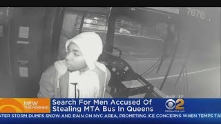 New Images Released Of MTA Bus Thief