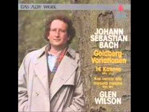 Glen Wilson, Bach, 14 Kanons BWV 1087