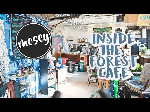 Edinburgh's Colourful Forest Cafe - 2018 (MOSEY)