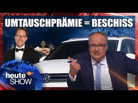 Der Beschiss mit den Diesel-Umtauschprämien | heute-show vom 05.10.2018