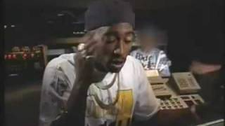 Tupac interview on christmas, Poverty and racism