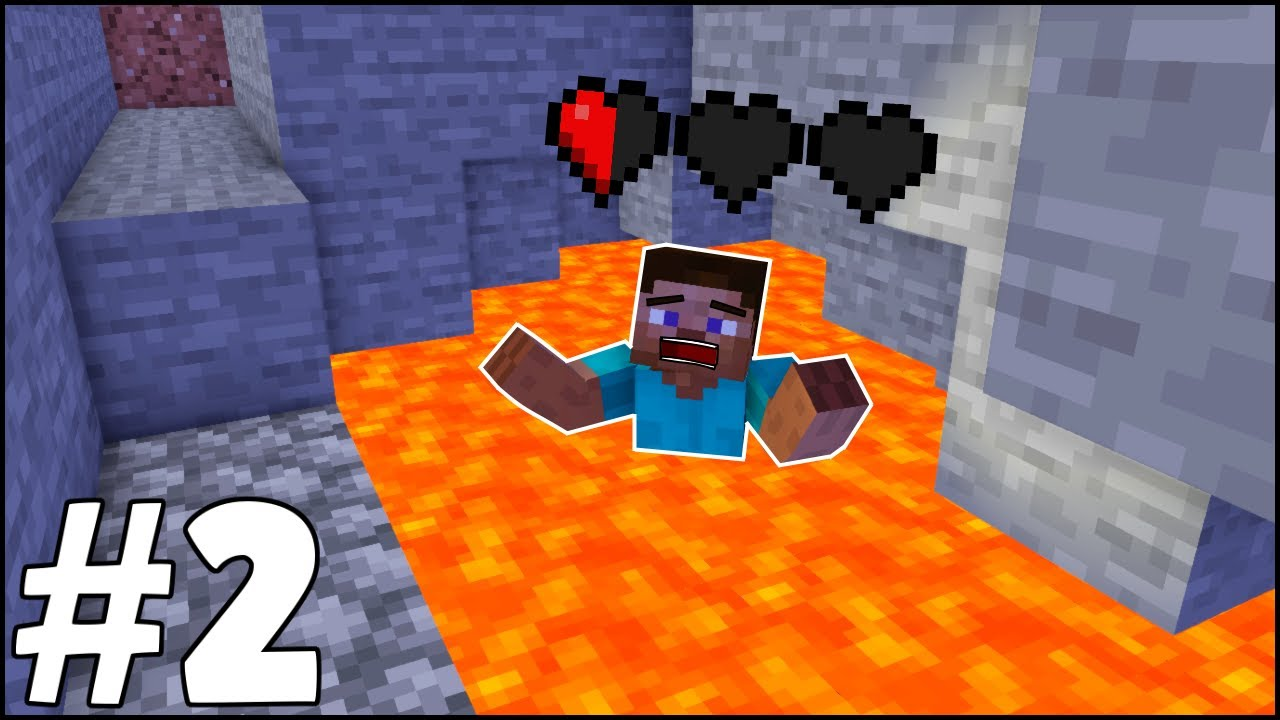 LAVDA YÜZDÜM!! 🔥 - Minecraft Survival Bölüm #2