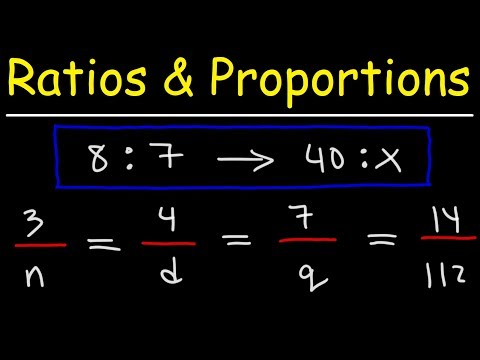 Ratio And Proportion Word Problems - Math