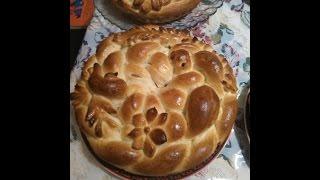 Как сделать рождественский  калач  -  мастеркласс, ( How to make Christmas loaf - masterclass)