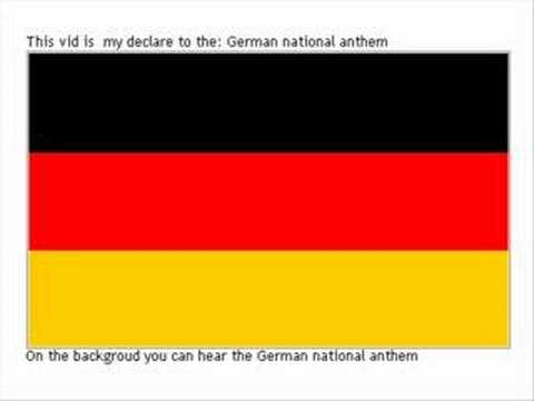 Original Germany's National Anthem