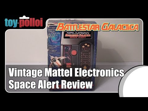 Vintage toy review - Battlestar Galactica Space Alert by Mattel