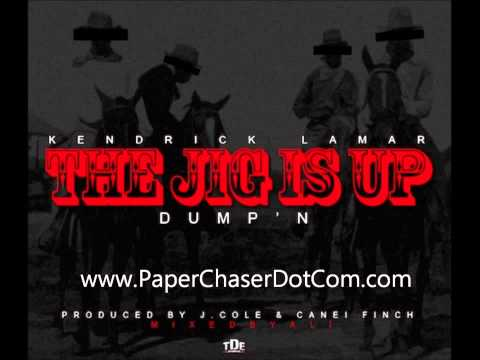 Kendrick Lamar - The Jig Is Up (2012 New CDQ Dirty NO DJ)