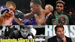 Danny Jacobs vs Canelo in May 19 | GGG & Jermall Charlo must come to DAZN For Canelo via Eddie Hearn