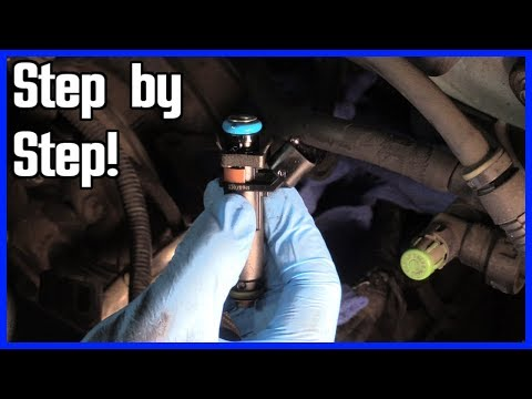 Repeat FUEL INJECTOR REPLACEMENT--STEP BY STEP by Merv's