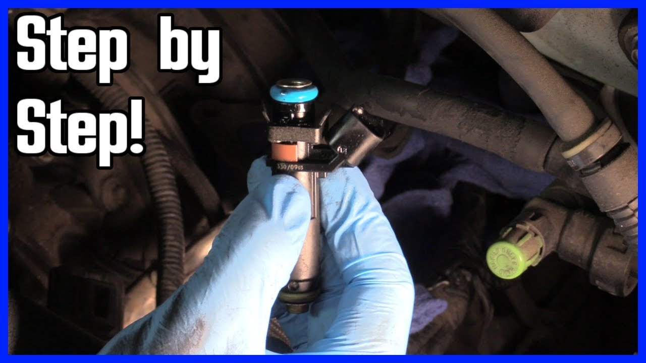 hight resolution of how to replace a fuel injector ford f150 2004 2008