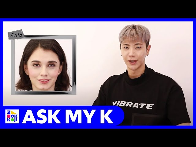 Ask My K : JUNU BEAUTY with Avila (Coral color makeup)