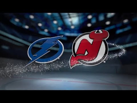Tampa Bay Lightning vs New Jersey Devils   October 17, 2017  Game Highlights  NHL 2017 18 Обзор