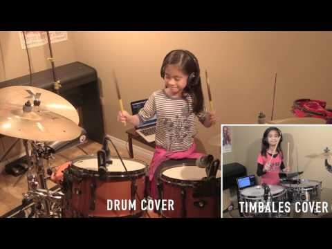 CHILLY CHA CHA  - JESSICA JAY   (VIANCA KHU BELOCAUL DRUM AND TIMBALES COVER)