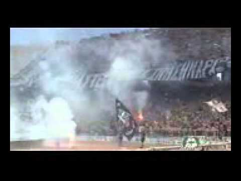 PAOK FANS In Athens OAKA Stadium Cup Final 2014 Mobile