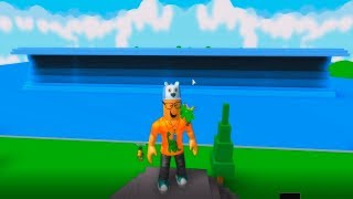 ROBLOX: THE WORLD'S BIGGEST WAVE IN ROBLOX! -Play Old man