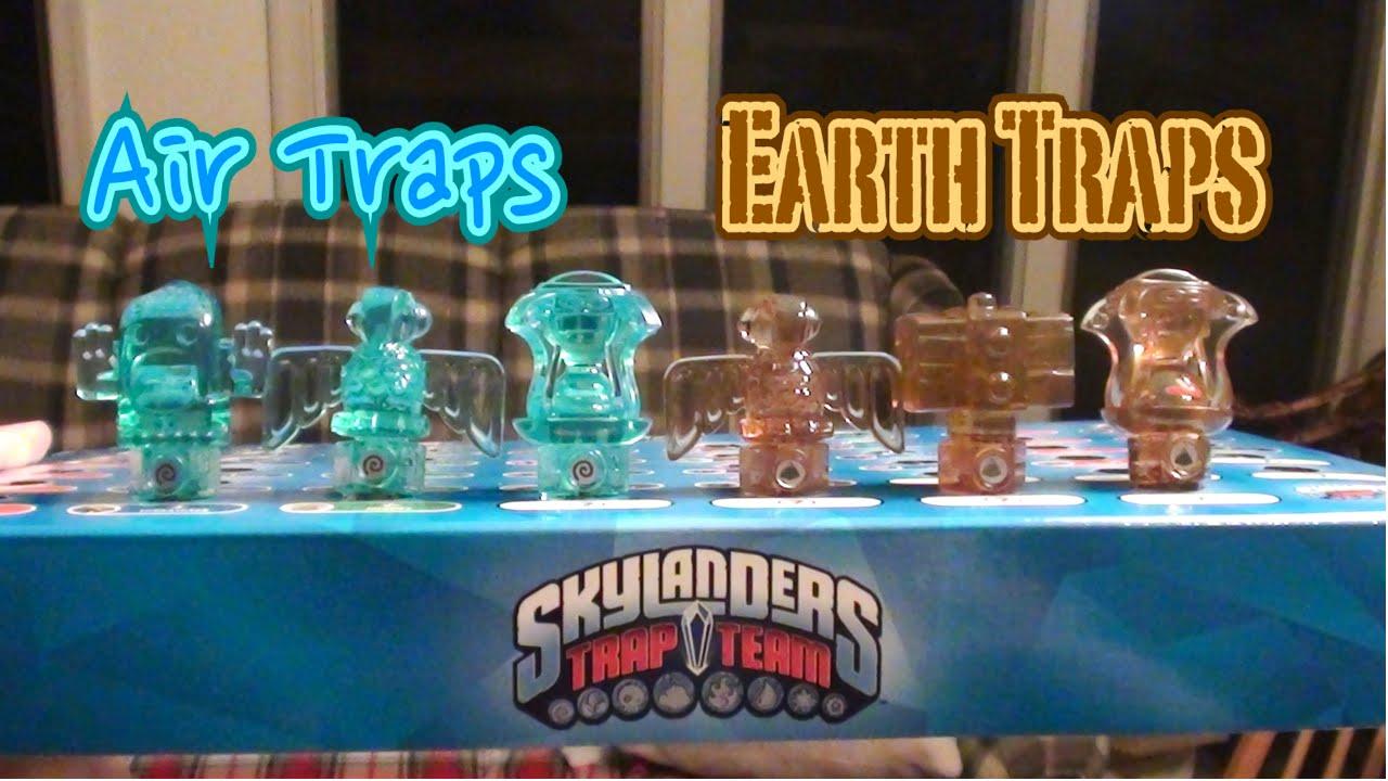 Skylanders Trap Team - Waves 1 & 2 - Air And Earth Traps ...