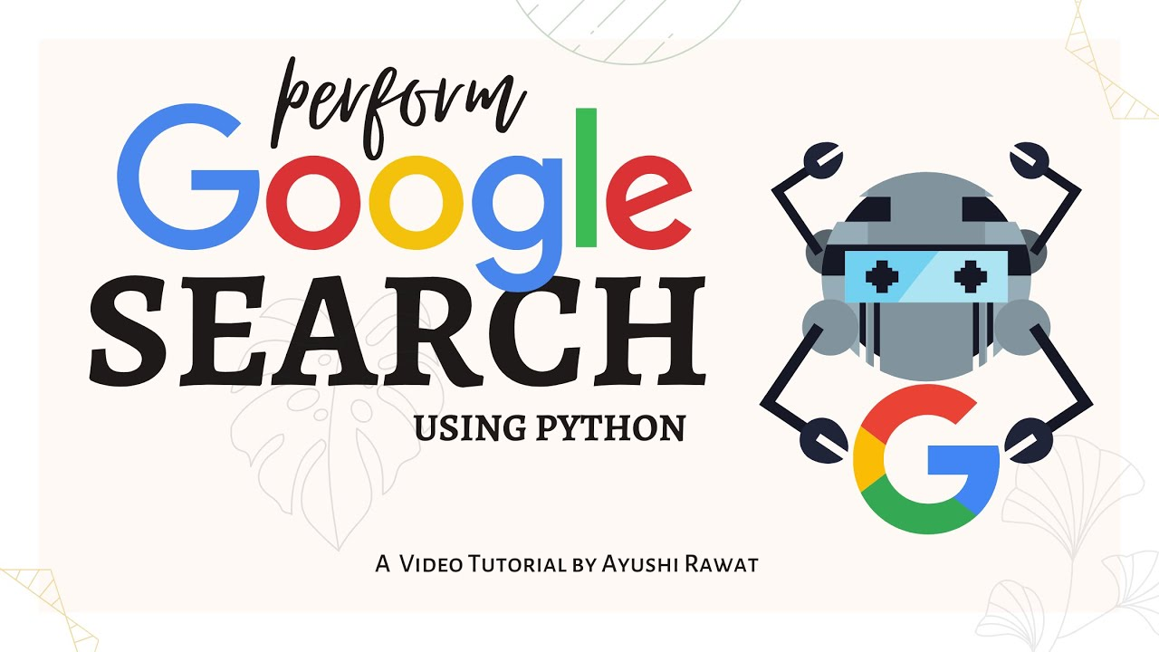 How to Perform Google Search using Python | Pywhatkit