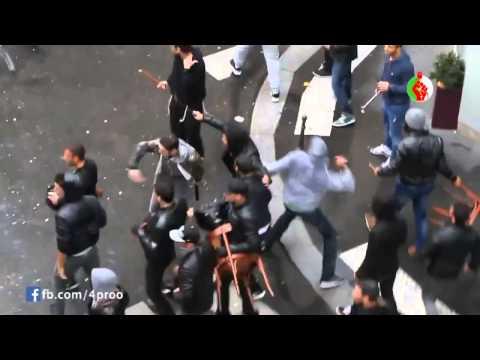 algerians attacking israelis in paris