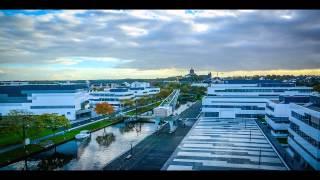 Hochschule Rhein-Waal Campus Kleve Time Lapse HD