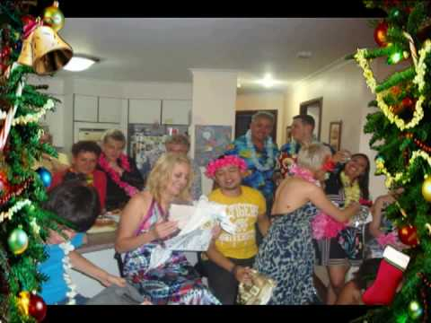 hawaiian theme christmas party 2008