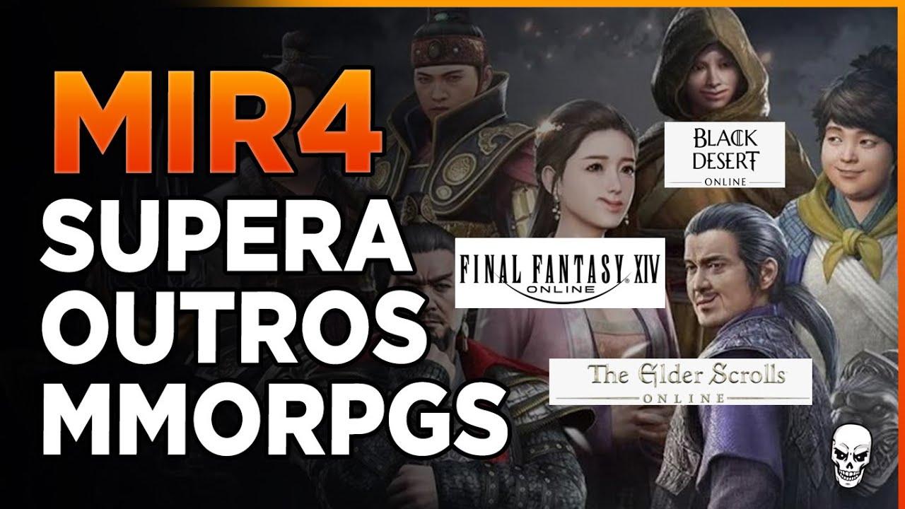 MIR4 - Supera Outros MMORPGs na Steam