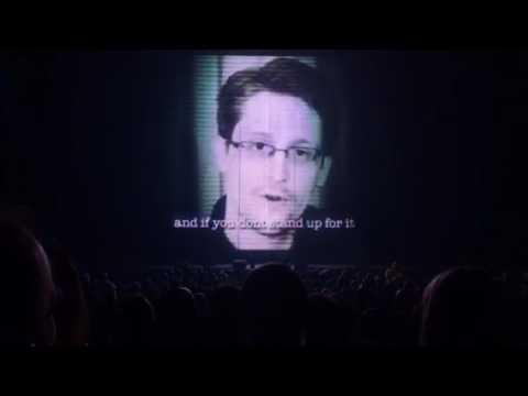 Jean Michel Jarre (Edward Snowden)