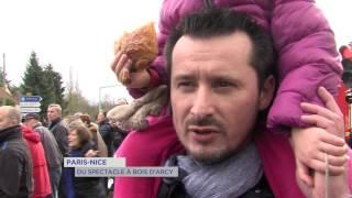 Paris-Nice : du spectacle à Bois d'Arcy