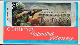 Frontline Commando D-Day Game Hack MOD ll apk+data ll Offline ll