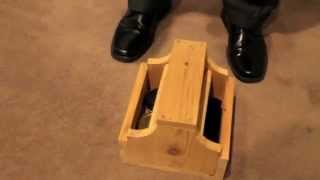 Wooden Shoe Shine Box Plans