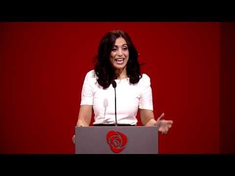 Hadia Tajik - Arbeiderpartiets landsmøte 2017