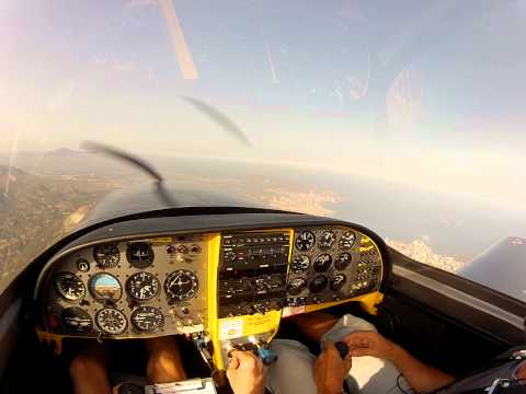 Lancair 360 - Interception Flight (To a Boeing Stearman) [Read Description]