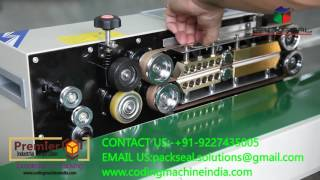 HOW TO CHANGE TEFLON BELT / TIMMING BELT FOR CONTINOUS BAND SEALER,  BAG SEALING MACHINE