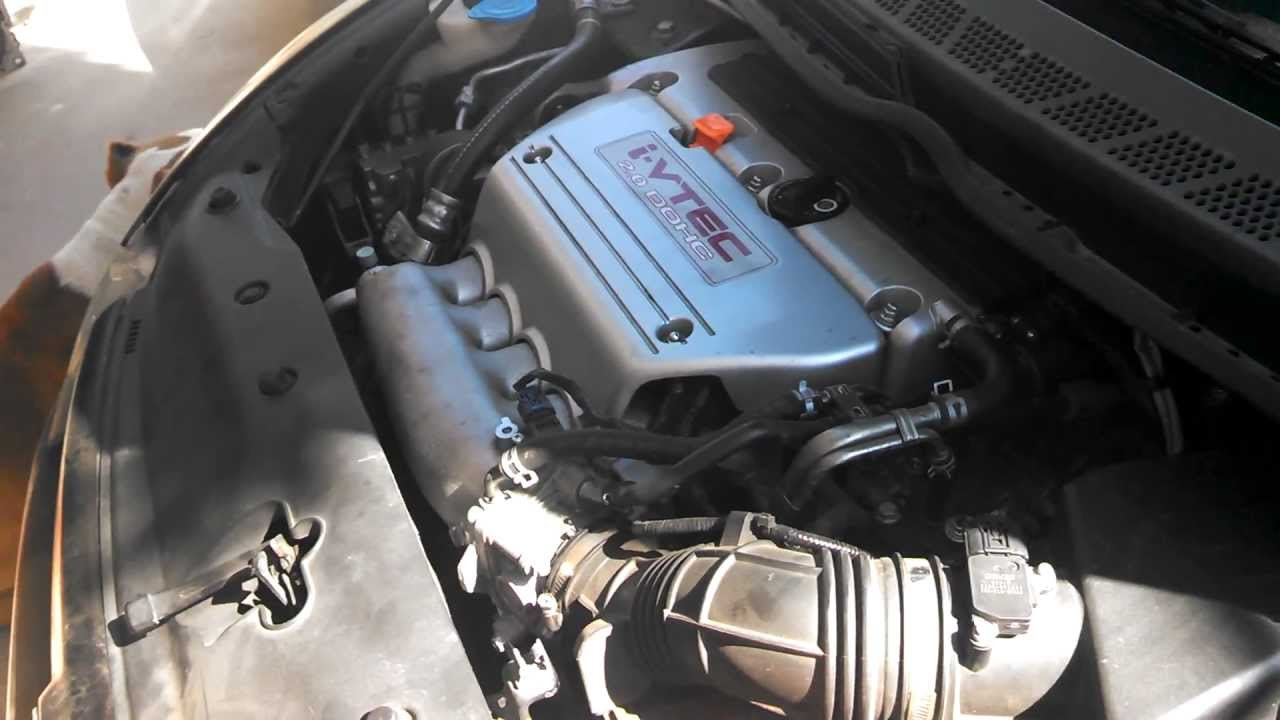2008 CIVIC SI K20 BLOWN ENGINE BLOCK TEARDOWN REMOVAL AND REPLACE PT 1 - YouTube