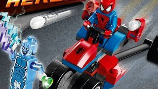 let s build lego marvel superheroes spider trike vs electro set 76014