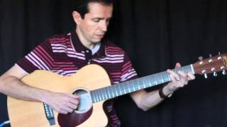 Sweet Hour of Prayer - Solo Jazz Guitar