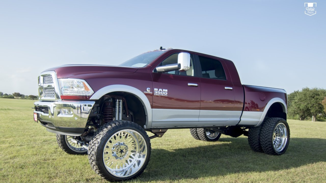 Lifted Dodge Ram Dually
