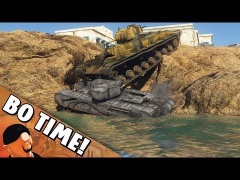 "War Thunder - SMK - ""It Does Not Float!"""