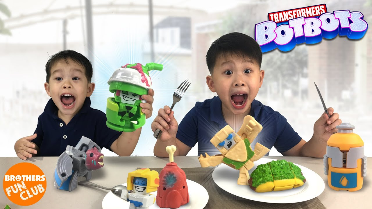 Download Everyday Objects Transform into Robots : TRANSFORMERS BOTBOTS Series 2
