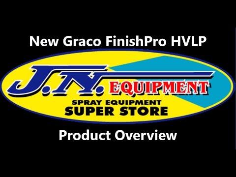 NEW 2017 - Graco FinishPro HVLP Turbines