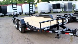 Lamar Trailers 7x14 Equipment Trailer / Bobcat Hauler