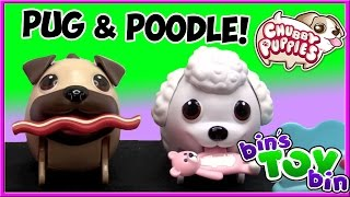 Chubby Puppies Poodle Seesaw Playset & Rare Pug! Review by Bin