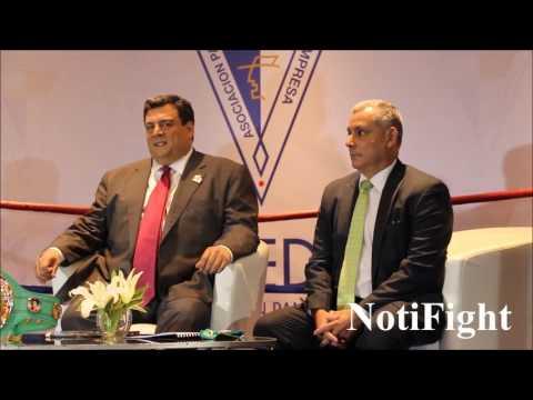 Presidente Sulaiman Foro de Deportes Apede Panamá