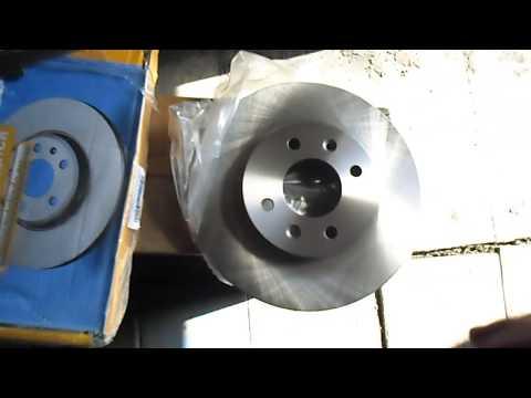 Замена переднего тормозного диска своими руками Хендай солярис