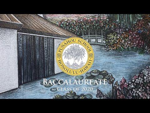 Punahou School Baccalaureate 2020