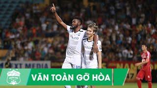 Văn Toàn bật cao đánh đầu phá lưới Tấn Trường, gỡ hòa cho Hoàng Anh Gia Lai| Vòng 10 V-league 2019